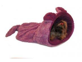 Marysa pelíšek 2v1, MYŠÁK, fialový, velikost XL