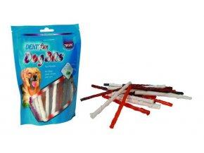 Trixie dentaFun Dog Bits Kroucené tyčinky bůvolí kůže 260 g