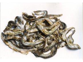 Šproty - sušené rybičky