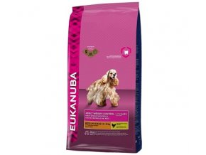 granule eukanuba adult small amp medium light weight control 15 kg