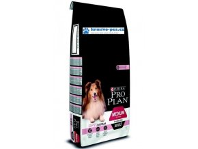 Purina PRO PLAN Dog medium Adult Sensitive Salmon 14+2,5 kg