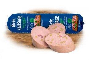 brit premium sausage turkey pea