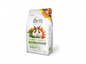 7255 brit animals rabbit adult complete 3kg