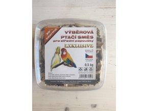 Výběrová ptačí směs pro střední papoušky EXCLUSIVE od SOBA