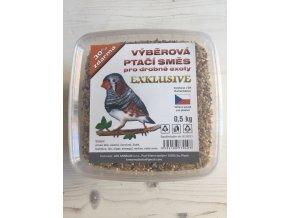 Výběrová ptačí směs pro drobné exoty EXCLUSIVE od SOBA