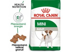 1254 royal canin mini adult granule pro dospele male psy