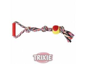 Hračka pro psy - Přetahovadlo s tenisovým míčkem
