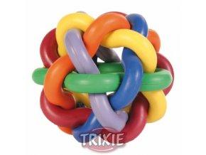 Pestrobarevný míček - uzel Ø 10 cm