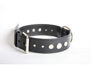 Obojek pro psa-kožený  ručně šitý č.9