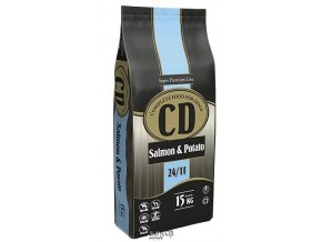 Delikan Dog CD Salmon & Potato 15 kg