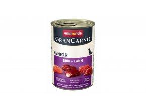 Animonda Gran Carno Senior hovězí, jehněčí 400g