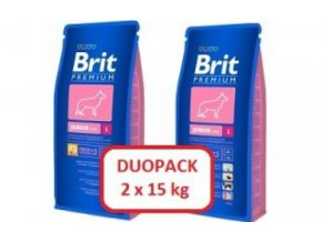 Brit Premium Junior L 2 x 15kg
