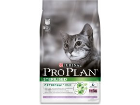 purina pro plan cat sterilised 3kg kruta
