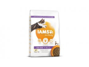 Eukanuba Iams for Vitality Kitten Food with Fresh Chicken 10 kg