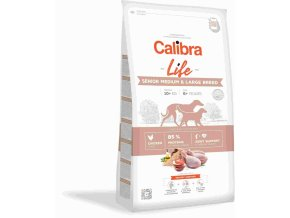 calibra dog life senior medium large chicken