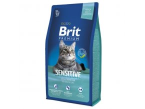 Brit cat Premium Sensitive 8 kg