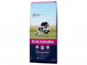 56636 eukanuba dog puppy medium chicken 12 kg habeo cz