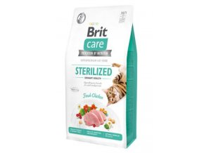 Brit Care Cat Grain-Free Sterilized Urinary Health 7 kg