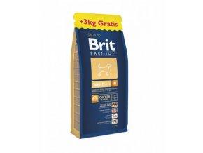 Brit Premium Adult M 15+3kg