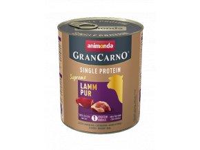 vyr 4149 82433 animonda GranCarno Single Protein Supreme Adult Lamm pur