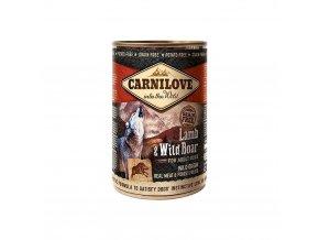 3779 1 carnilove wild meat lamb wild boar 400g