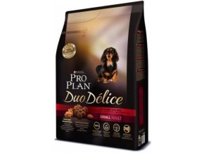 PRO PLAN DOG ADULT DUO DÉLICE SMALL BEEF 700 G
