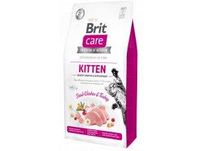Brit Care Cat Grain Free Kitten Healthy Growth & Development 7 kg