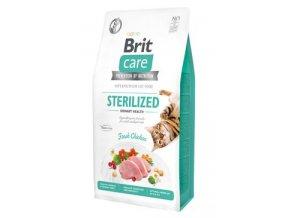 Brit Care Cat Gran Free Sterilised Urinary Health 2 kg