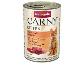 Animonda Carny Kitten hovězí telecí kuřecí 400 g