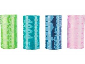 Trixie náhradní barevné sáčky na trus 8 rolí á 20ks