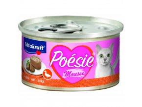 Vitakraft Cat Poésie konz. paté paštika kachna 85 g