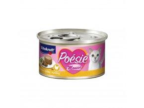 Vitakraft Cat Poésie konz. paté paštika kuře 85 g