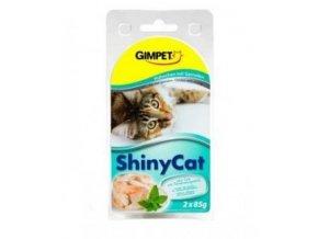 Gimpet ShinyCat kure+krevety 2 x 70 g