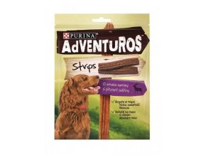 Purina Adventuros snack dog - plátky se zvěřinou 90 g