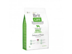 BRIT CARE GRAIN-FREE ADULT LARGE BREED SALMON & POTATO 3 kg