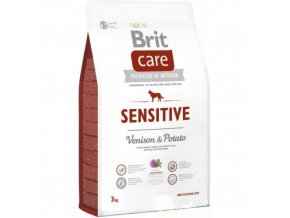 brit care 3 0kg sensitive venison potato