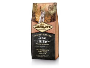 Carnilove Dog Salmon & Turkey for Large Breed Puppy 12 kg