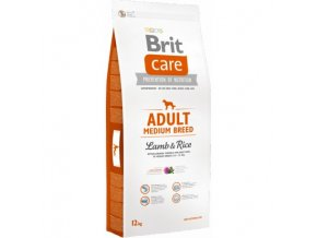 brit care dog adult medium breed lamb rice 12kg