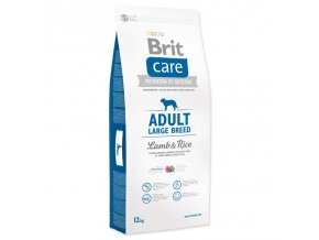 brit care dog adult large breed lamb rice 12kg