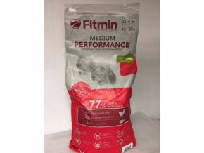 Fitmin Dog Medium Performance 15 kg  + Sušené Maso 80g