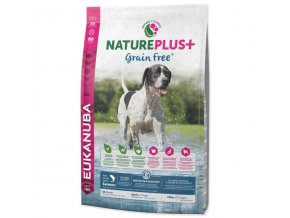 eukanuba nature plus adult grain free salmon