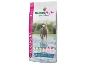 eukanuba nature plus puppy junior grain free salmon 14kg original