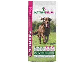 eukanuba nature plus adult large breed rich in freshly frozen lamb 14kg original