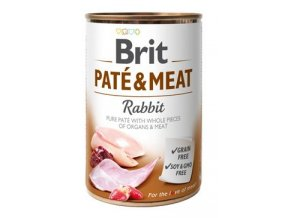 brit dog konz pate meat rabbit 400gtitlejpeg