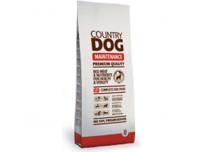 granule 15kg country dog maintenance original