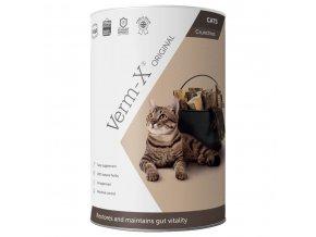 Verm-X Přírodní granule proti střevním parazitům pro kočky 60g
