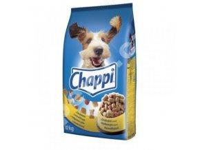 Chappi s hovězím a drůbežím masem 9 kg