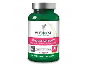 VET´S BEST Žvýkací tablety na imunitu, 60 tablet