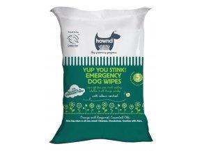 HOWND® Yup You Stink! Emergency Dog Wipes