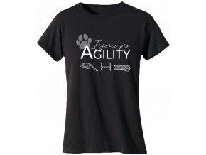 tricko agility zijeme pro agility pro pejskare
